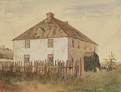 The White Cottage of James Bird