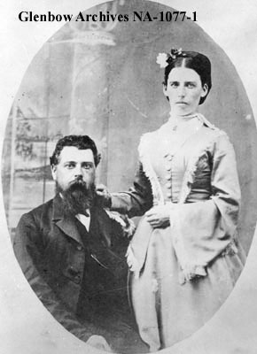 Duncan and Mrs. Campbell in 1872
