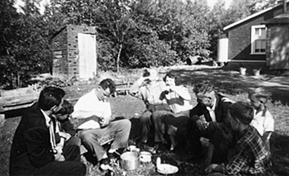 Boozin' at the old Still House in 1953