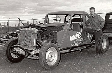 Kenny and his Stock Car
