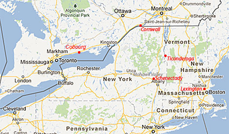 New York - Montreal