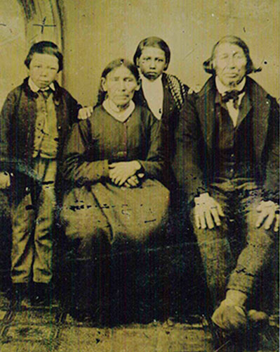Family of John Favel (1843-1893)