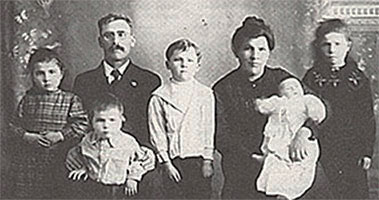 Family of Frederick Foord
