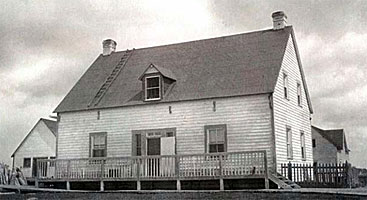 Hudson's Bay House at Fort Albany