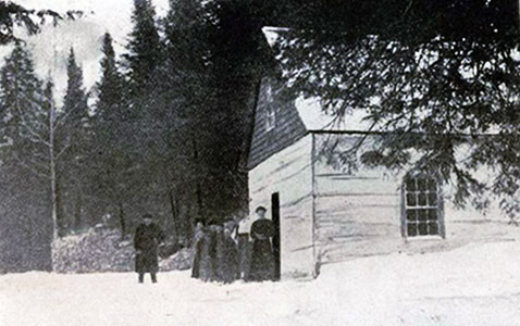 Balsam Bay School 1908