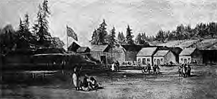 Fort Vancouver 1825