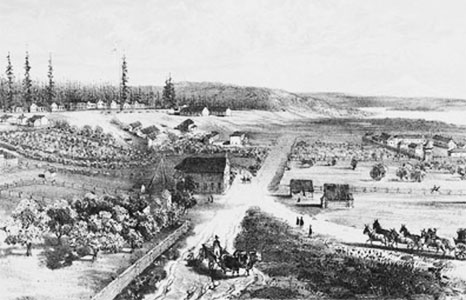 Fort Vancouver 1854