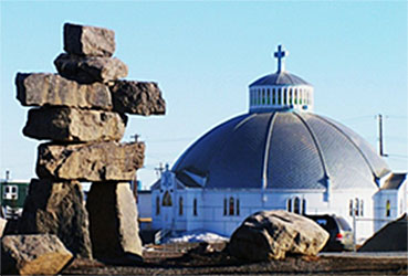 Igloo Church at Inuvik