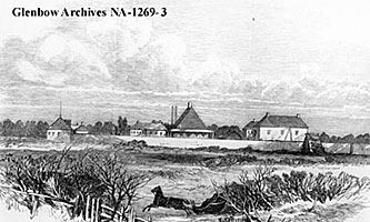 Lower Fort Garry 1869