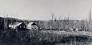 Peace River HBC Post 1906