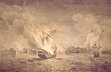 The Seige of Louisbourg 1758