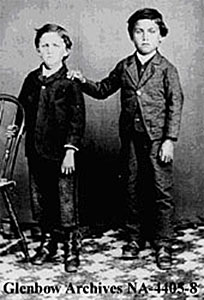 Charles and James Isbister