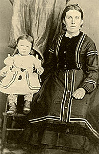 Mary Anne Begg Isbister with son James