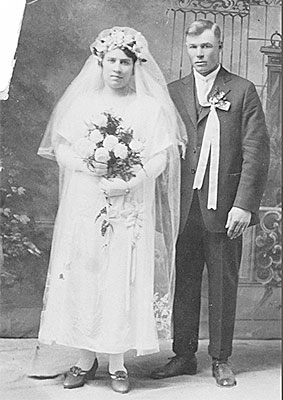 Wedding of Eda Dreger and Albert Meger