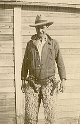 Angus Morrison in Cowboy Outfit