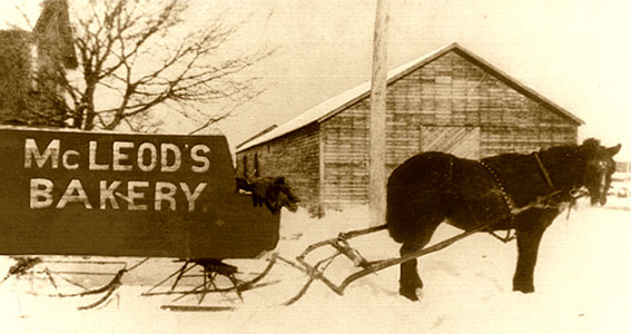 A.G. McLeod Bakery Delivery Sleigh