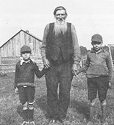 George Sanderson and Grandsons