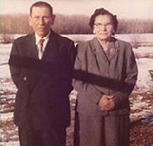 Joseph and Nancy Spence in the 1940's