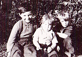 John, Kenny & Gary as youngsters