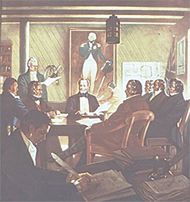1836 HBC Council Meeting at Norway House
