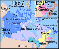 Canadian Confederation 1867