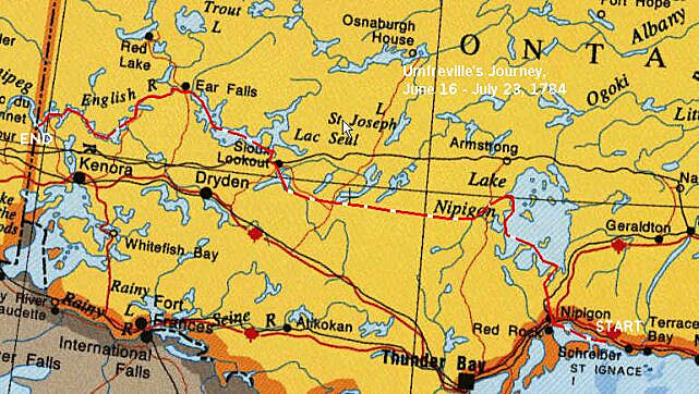 Nipigon to Winnipeg by Edward Humphreyville