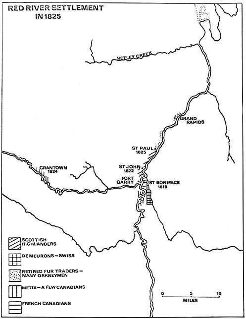 Red River Settlement 1825